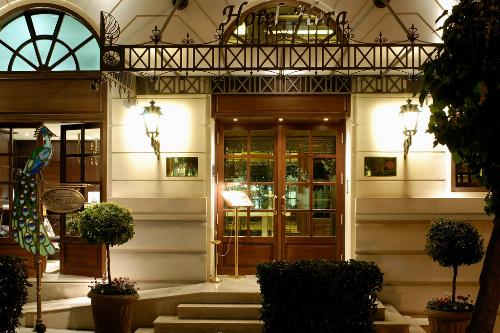 Exterior of Hera Hotel, Athens.