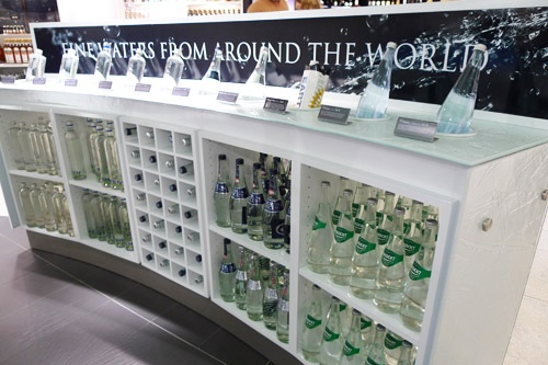 Water for sale at Dublin Airport.