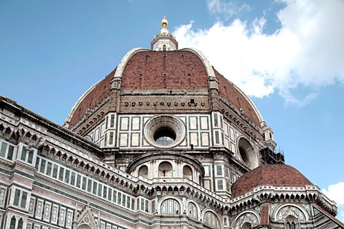Brunelleschi's dome topping the Duomo has crowned the Florentine skyline since 1436.