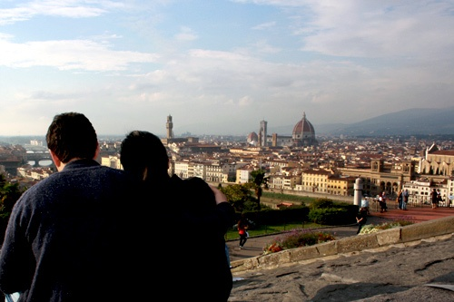 View of Florence from the Piazzale Michelangelo.