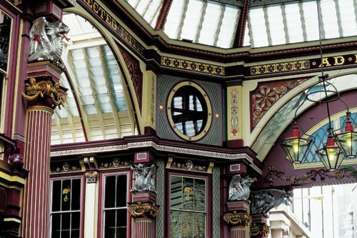 Leadenhall Market in London.