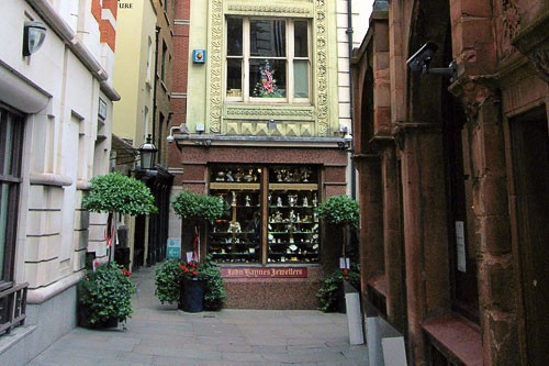 St. Michael's Alley in London.