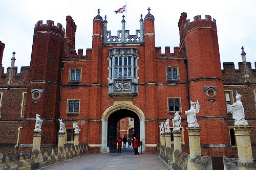 Hampton Court Palace dates back to the early 16th century and was home to many kings and queens, most infamously Henry VIII.
