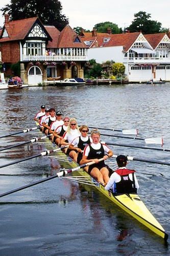Since the mid-19th century, the annual rowing regatta at Henley-on-Thames has been under royal auspices.