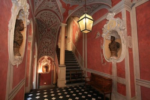 Inside the Palais Lascaris, Nice, France
