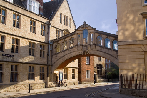 Bridge of Sighs and New College Lane, Oxford