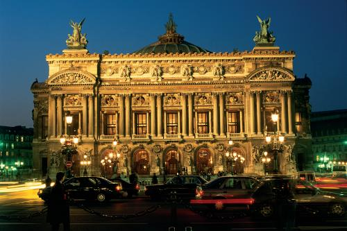 "The Paris Opera, designed by Charles Garnier as a ""monument to art, to luxury, to pleasure."""
