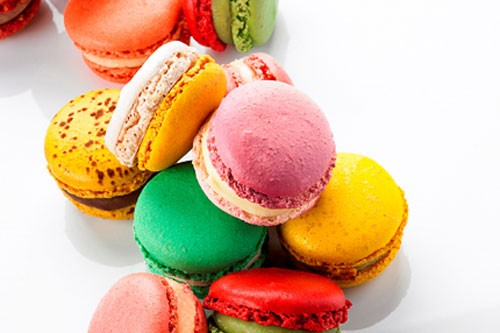 Macarons from Pierre Hermé in Paris, France.