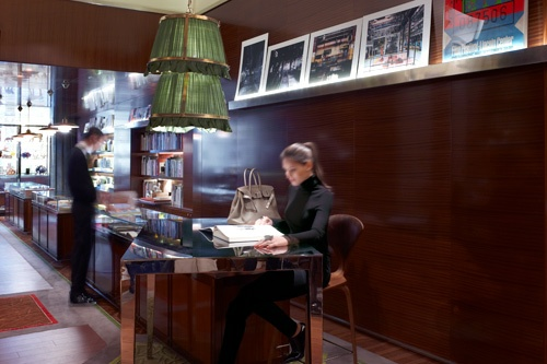 La Librairie des Arts, the art bookshop of Le Royal Monceau, Paris. Photo: Courtesy Le Royal Monceau