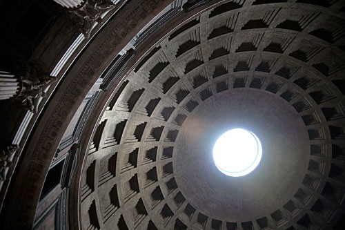 The ancient construction secrets behind the dome of the Pantheon have intrigued visitors for millennia.