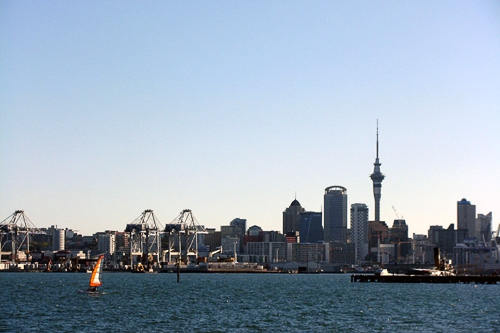 Auckland Cityscape from the Water