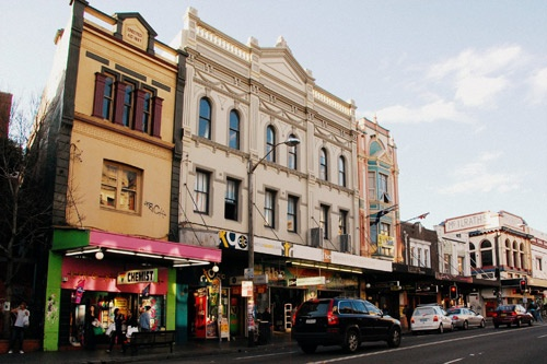 Newtown, Sydney, is an inner-city suburb with a good selection of cafes, bookstores and restaurants