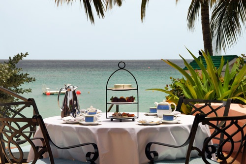 Tea time at the Fairmont Royal Pavilion, Barbados. Photo: Courtesy Fairmont Royal Pavilion