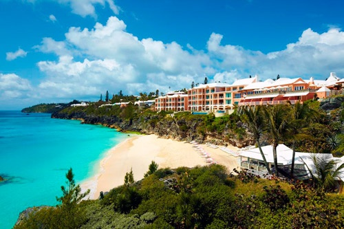 The Reefs Hotel & Club, Bermuda. Photo: Courtesy of the Reefs Hotel & Club