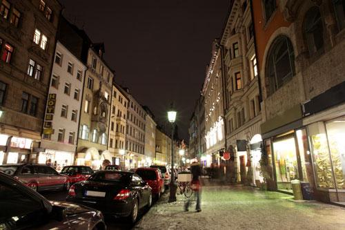 Nighttime in Munich