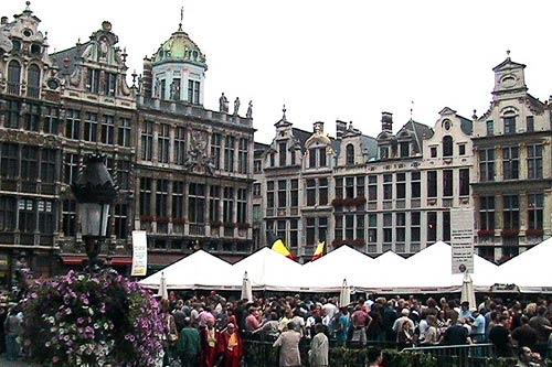 The Belgium Beer Weekend in Brussels happens each September.