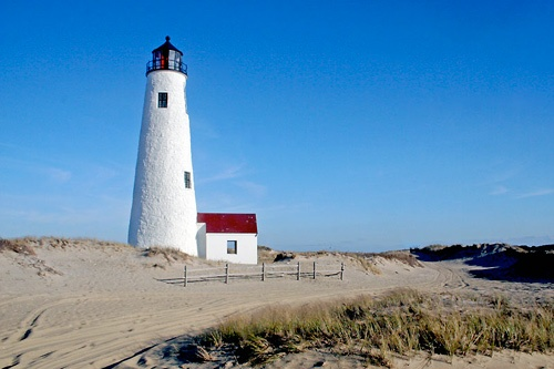 Great Point Lighthouse in Nantucket. Photo courtesy of Christopher Seufert