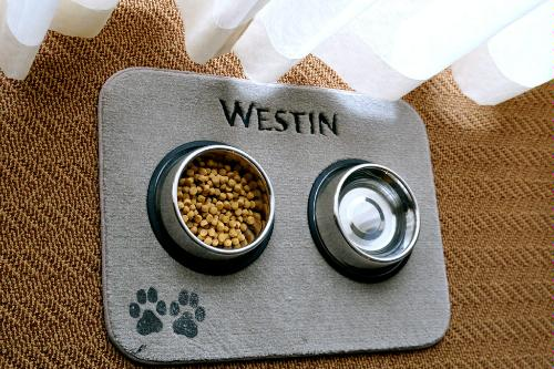 Some of the dog-friendly perks at the Westin Versasa Napa in Napa Valley, California.