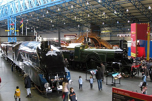 "The National Railway Museum in York. Photo by <a href=""http://www.flickr.com/photos/davidcjones/4337730714/"" target=""_blank"">David Jones/Flickr.com</a>"