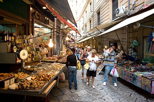 Just about anything you could ever want is on sale at Palermo's Ballarò and Vucciria street markets.