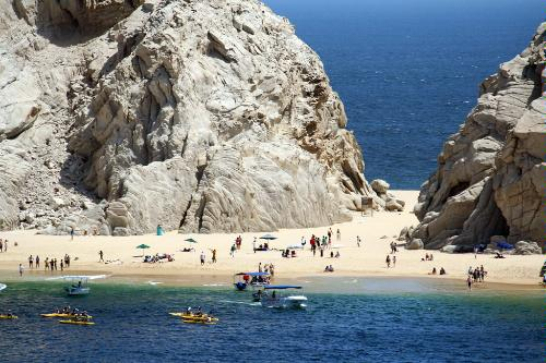 Lover's Beach on Cabo San Lucas.