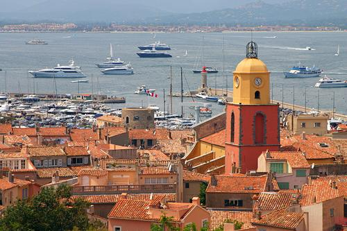The bay of St. Tropez