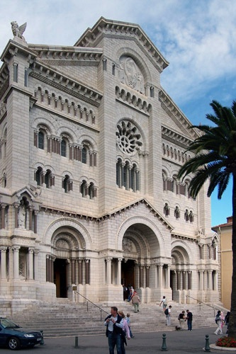 St. Nicholas Cathedral, also known as Monaco Cathedral, in Monte Carlo.