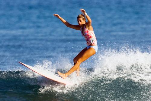 Las Olas Surf Safaris for Women, Puerto Vallarta, Mexico.