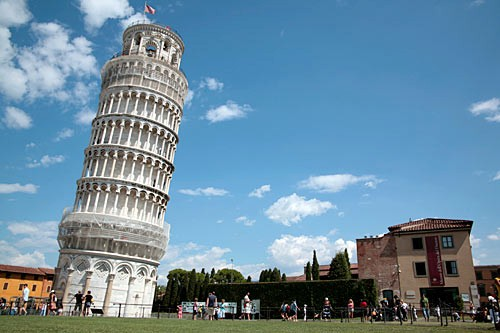 Pisa's torre pendente, or Leaning Tower, has lurched almost since its first stones were laid in 1173.
