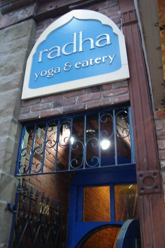 Radha Yoga Center & Eatery in Vancouver.