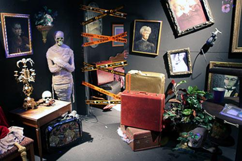 Skeletown Haunted House at the Children's Museum of Indianapolis, Indiana. Courtesy Children's Museum Guild