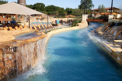 Paradise Springs in Gaylord Texan Resort in Dallas, Texas.