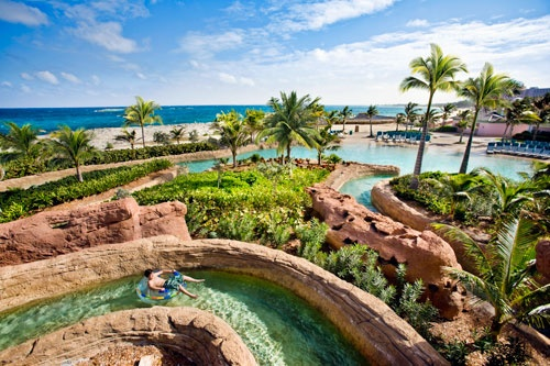 The Current, one of the pools at Adventureland Water Park at Atlantis, Paradise Island, Bahamas. Photo: Courtesy Jeffrey Brown/Atlantis