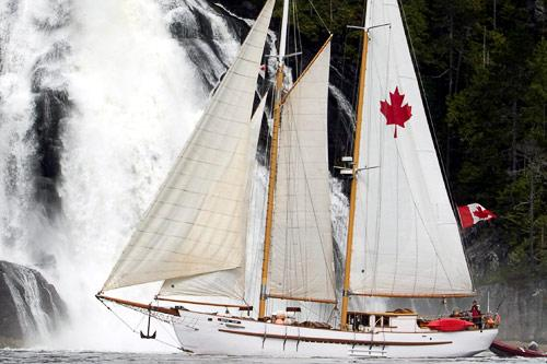 The schooner Maple Leaf. Courtesy Maple Leaf Adventures