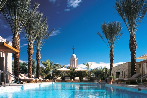 The pool at the Fairmont Scottsdale Princess, Scottsdale, Arizona. Photo: Courtesy Fairmont Hotels & Resorts
