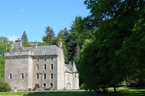 Culcreuch Castle and Hotel in Fintry, Scotland. Photo courtesy Culcreuch Castle Hotel