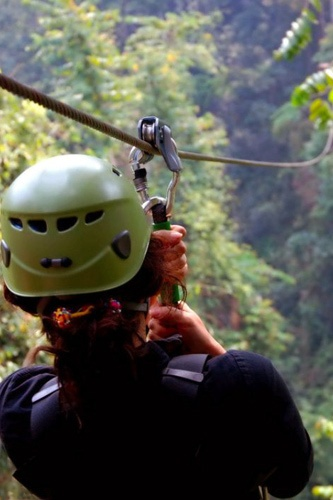 Flight of the Gibbon zipline tour, outside Mae Kompong village near Chiang Mai. Photo by: Tree Top Asia Co, Ltd.