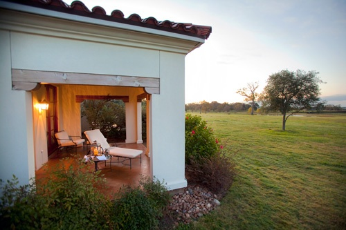 The Inn at Dos Brisas in Washington, Texas. Photo courtesy Inn at Dos Brisas.