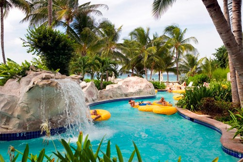 Sugar Mills Falls Water Park, Hilton Rose Hall in Montego Bay, Jamaica
