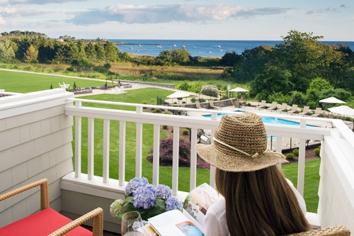 Ocean View Suite at Inn by the Sea in Cape Elizabeth, just outside Portland. Photo: Courtesy Inn by the Sea