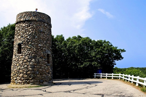 Scargo Tower in Dennis on the Middle Cape, dating back to 1901. Photo by Christopher Seufert