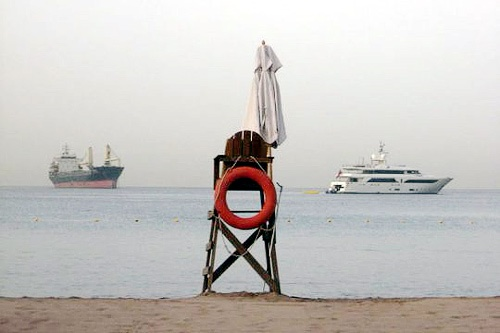 Aqaba, which fronts the Red Sea, is just an hour's drive from Wadi Rum and offers a small seaside town experience.