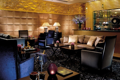 The Four Seasons Hotel Amman claims the Kingdom's biggest selection of cognacs and single malts