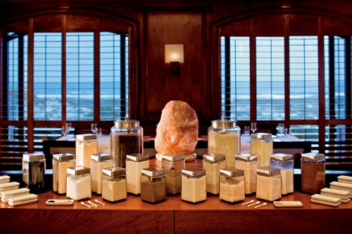 Salt Cooking School at the Ritz-Carlton Amelia Island, Florida. Photo: Ron Starr
