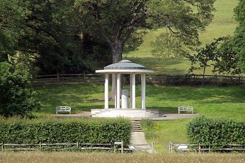 The American Bar Association's Magna Carta monument at Runnymede.