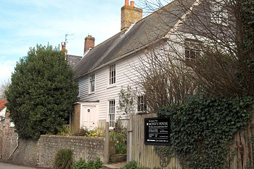 Monk's House was home to Virginia Woolf near Lewes.