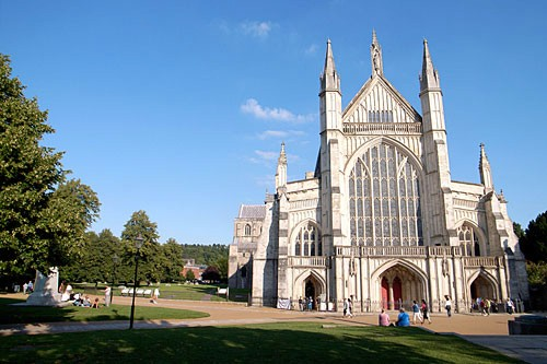 The Winchester Cathedral.