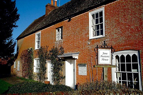 Jane Austen's home in Chawton.