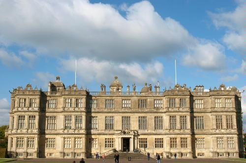 Longleat House in Wiltshire, England.