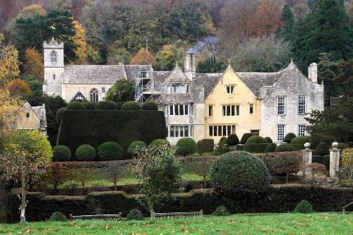 Owlpen Manor in Owlpen, Dursley, England.